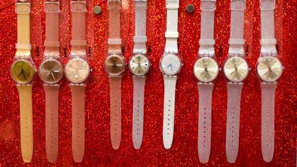 La nueva colección de relojes Swatch, exclusiva para Argentina