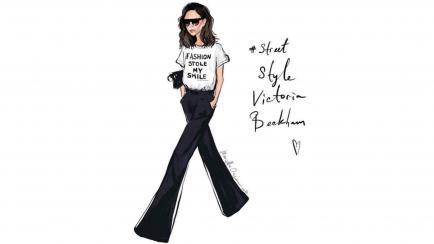 La remera de Victoria Beckham que generó polémica
