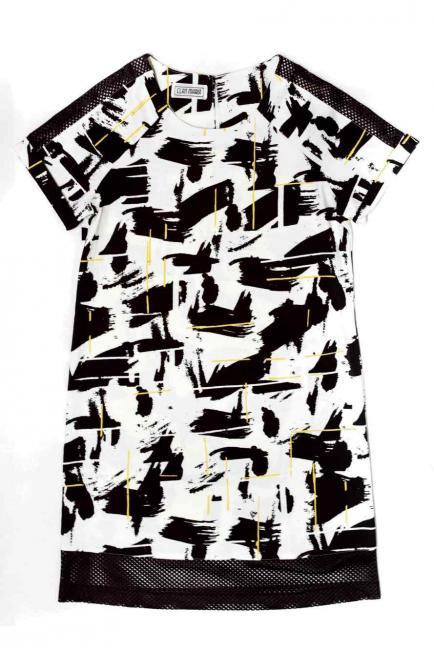 5 vestidos blanco y negro para las fiestas de fin de año