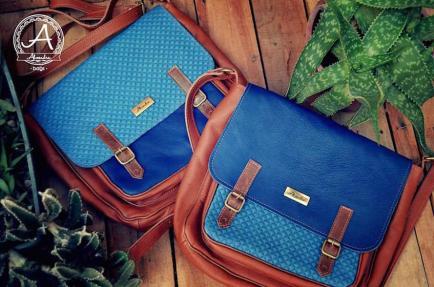 Showroom de carteras con Almendra Bags