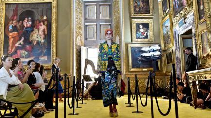 La marca del momento: Gucci hizo otro desfile para el delirio de fashionistas