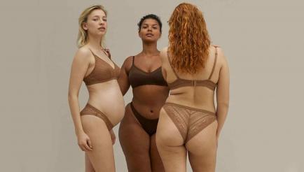 Campaña de lencería a favor de la inclusión: los cuerpos reales son protagonistas