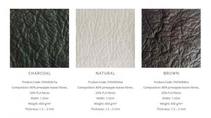 Inventan una piel hecha de ananá como alternativa al cuero animal