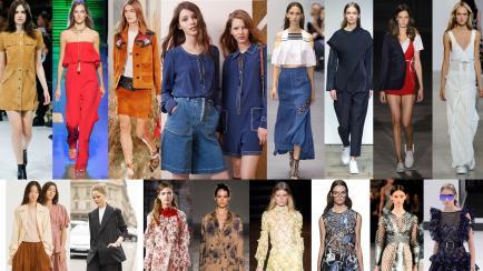 Las 6 tendencias de moda que definen al verano 2017