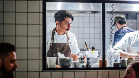 Uno de los cocineros destacados entre la joven camada, Alejandro Castro (gentileza Paula Belén Pagnoni)