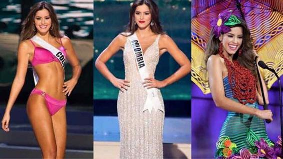 Miss Colombia fue la ganadora del certamen.