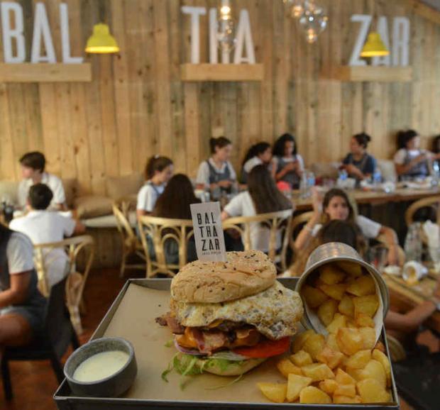 Nuestro comentario de Balthazar, el lugar de las hamburguesas XL