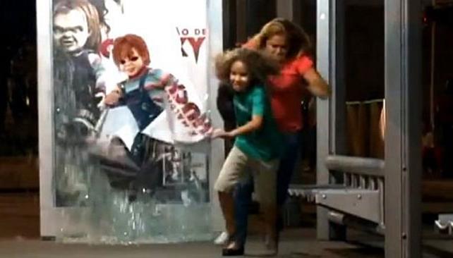 Más bromas de terror desde Brasil: ahora con Chucky