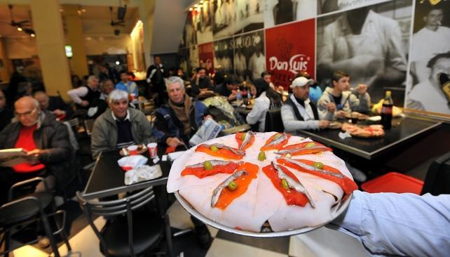 Pizzería Don Luis, en el centro.