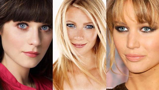 Zooey Deschanel, Gwyneth Paltrow y Jennifer Lawrence, entre las mujeres más bellas del mundo.