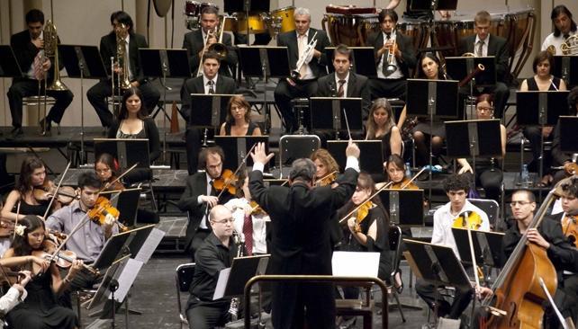 La Orquesta Sinfónica de la UNC.