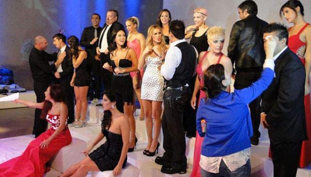 El backstage de la Presentación del Cantando 2012. Foto: Teleshow