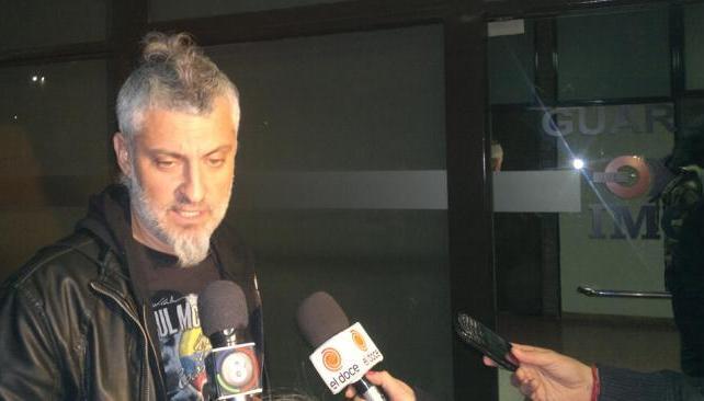 José Palazzo, manager de Charly y productor del show, habla de lo sucedido. Los primeros partes médicos. Foto: Facundo Luque/LaVoz.