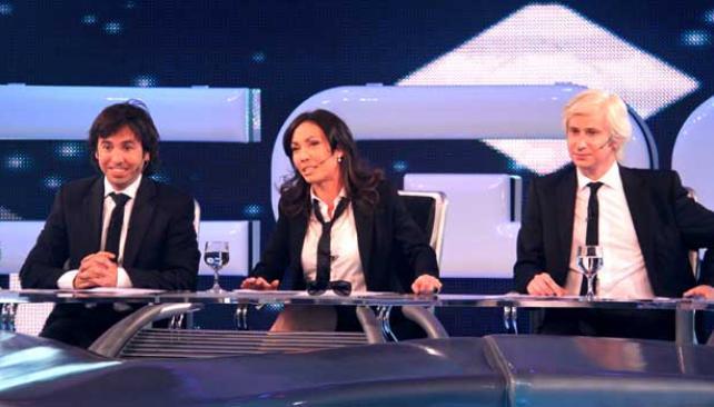 TRÍO. Rodríguez, Pais y Di Natale, la conducción de este año en CQC.