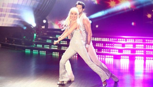 A Grecia Colmenares no le fue tan bien bailando como en los finales felices de sus telenovelas.