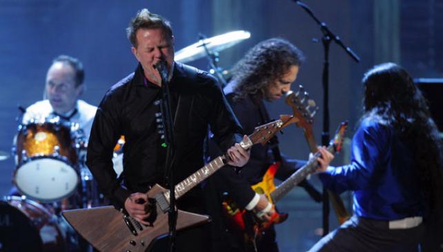 NADA EXTRAVAGANTE. Los Metallica solicitaron comida sana y algo de alcohol.