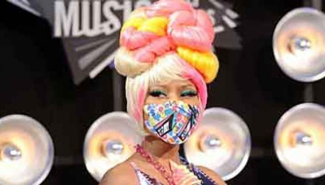 ¿EN SERIO, NICKI MINAJ? La cantante de Trinidad y Tobago, en la entrega de los MTV Video Music Awards
