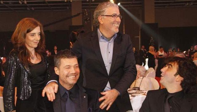 Marcelo Tinelli recibió tres premios: mejor conducción masculina, mejor reality y producción integral para ShowMatch.