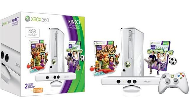 El nuevo pack incluye dos juegos y hardware de color blanco.