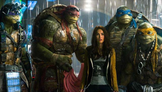 Las Tortugas Ninja: un debut exitoso pero con críticas desa