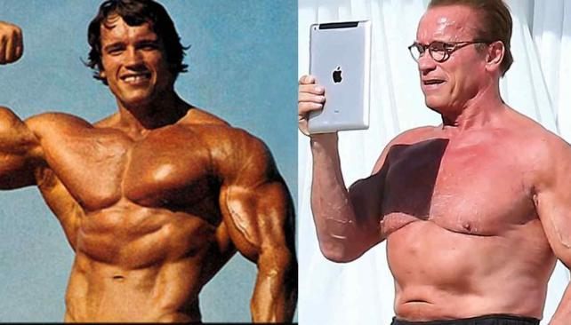 Arnold Schwarzenegger sobre su cuerpo:
