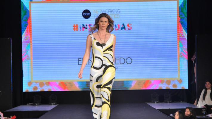 El desfile de Elina Oviedo se robó la atención en el Networking de Mujeres de Ocio