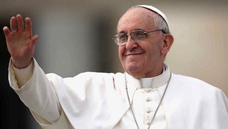 Papa Francisco: 11.000.000 seguidores en @pontifex y 8 cuentas más en diferentes idiomas. Foto web.