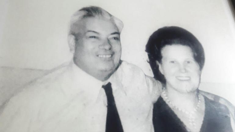 Raymundo Bran y su esposa, Amelia Jacinta Cecato.