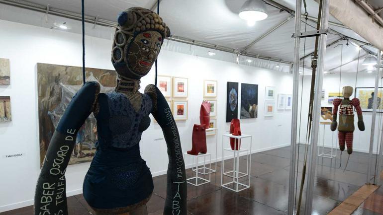 Obra de Alejandro Bovo Theiler, una de las propuestas de Arte Cerca.