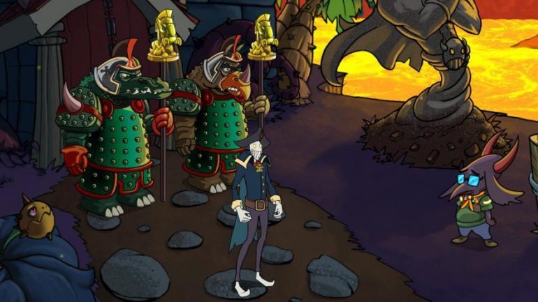 1. Darkestville Castle. Uno de los premiados trabajos de Epic Game. (Epic Games)