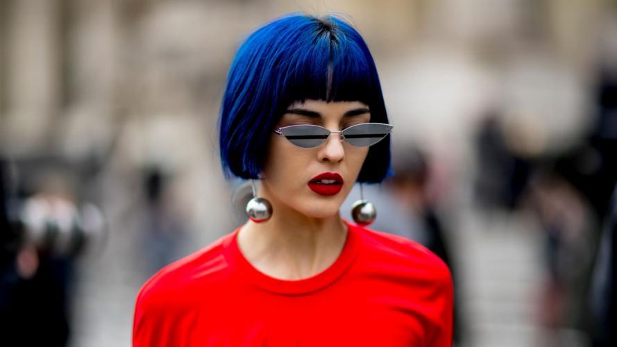 Los raros colores que se imponen para tintura de pelo
