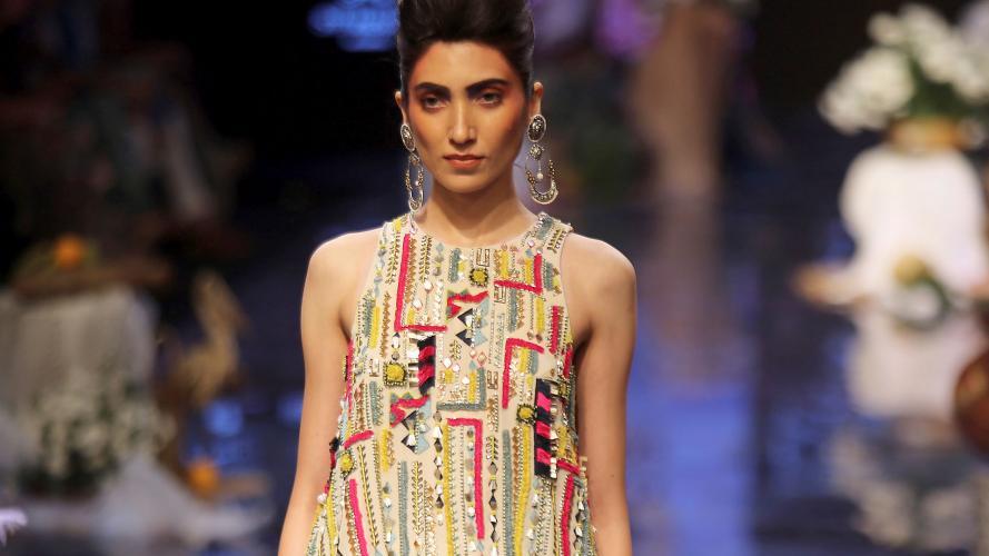 Lakmé Fashion Week: la colorida propuesta de Payal Singhal