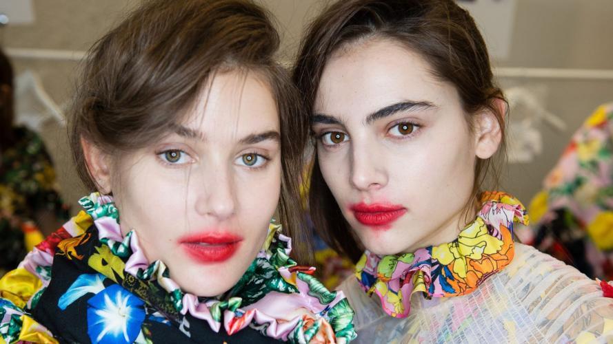 """¿Te gustan? Los labios """"lollipop"""" son la tendencia más rara de las pasarelas"""