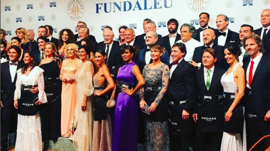 Los looks de las famosas en la gala solidaria de Fundaleu