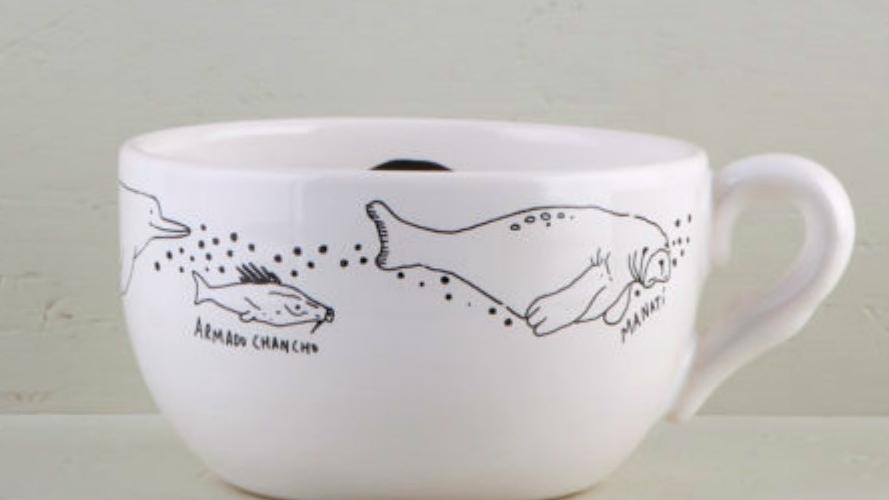 10 objetos para la hora del té, ilustrados por artistas argentinos