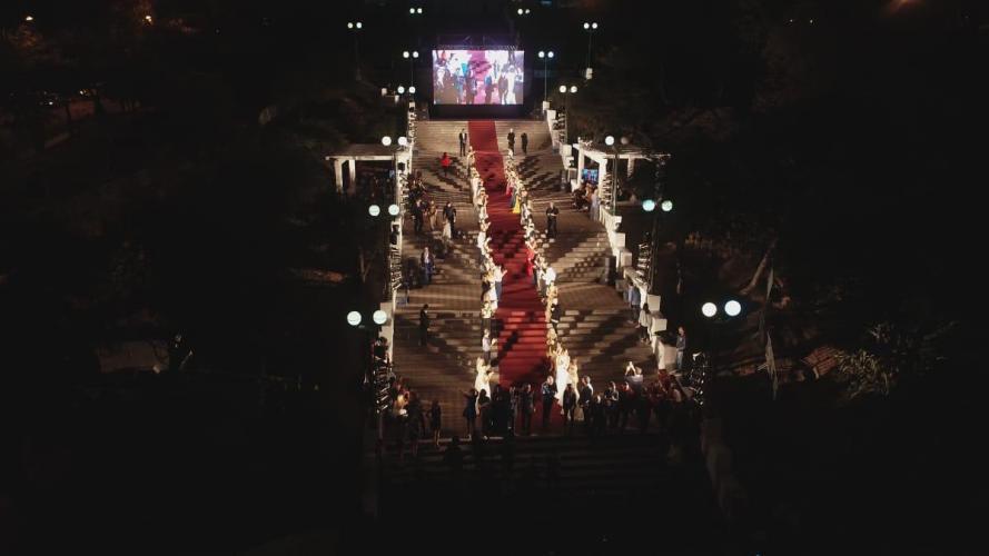Desfile Real en el Parque Sarmiento: así se vieron las escalinatas