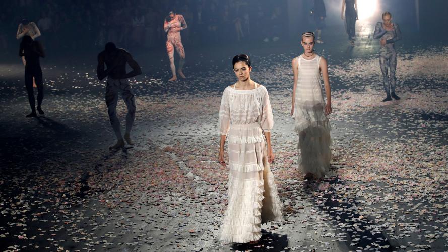 La hermosura de Dior en el inicio de la Semana de la Moda de París