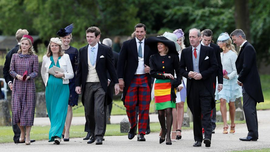De película: todos los looks del casamiento de Pippa Middleton