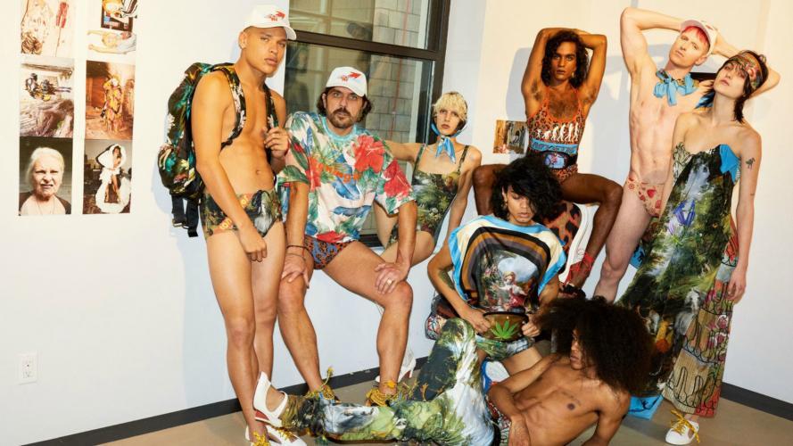 Una campaña de moda muy poco tradicional