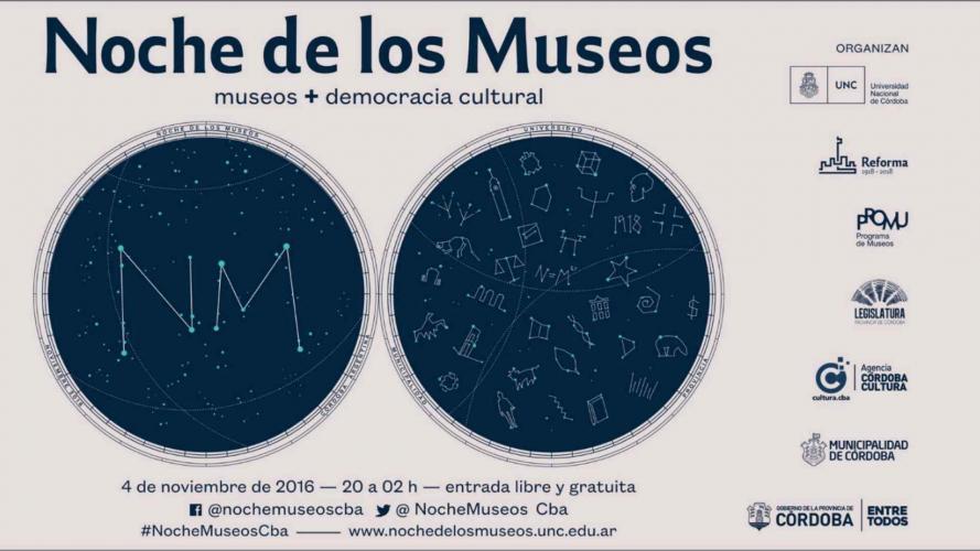 Córdoba: se viene la Noche de los Museos