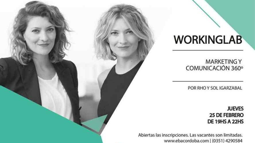 Aprendé a comunicar tu marca con el workinglab de EBA Córdoba