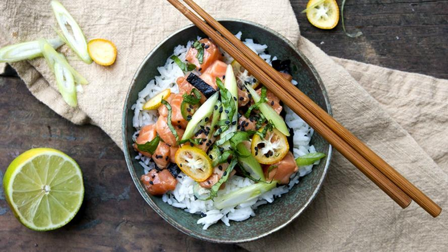 Poke bowls: las ensaladas que son un boom de Instagram