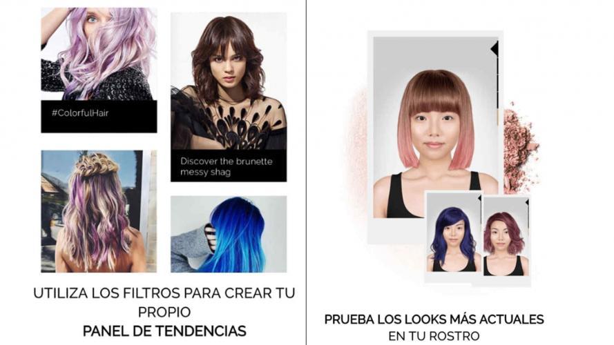 Style My Hair: la aplicación que te permite probar coloraciones reales para tu pelo