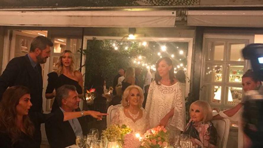 Los looks, la comida y otros detalles del cumpleaños de Mirtha Legrand