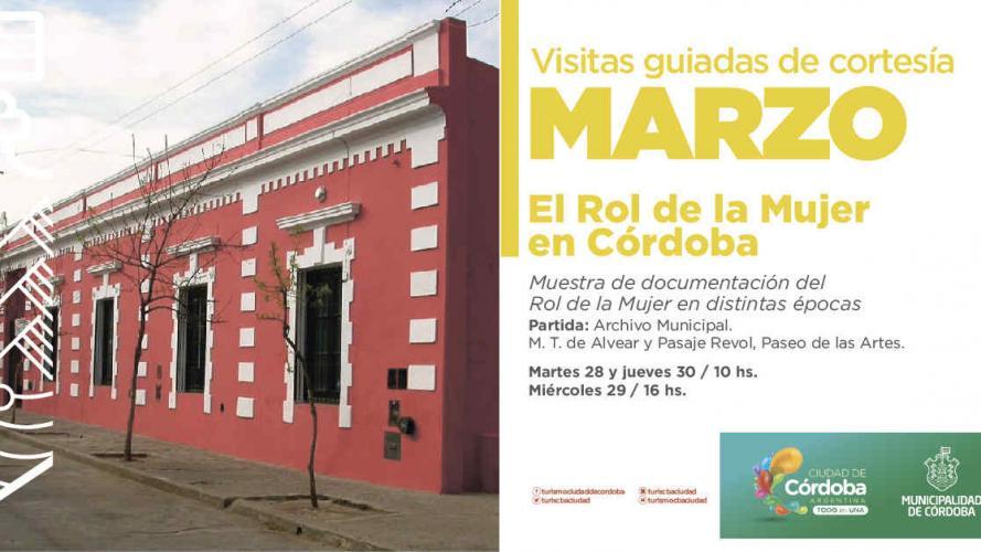 Circuito gratuito para conocer la historia de grandes mujeres en Córdoba