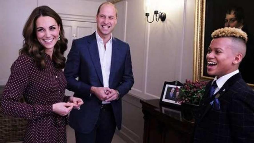 Todo hablan de la tela con lunares que usaron Meghan Markle y Kate Middleton