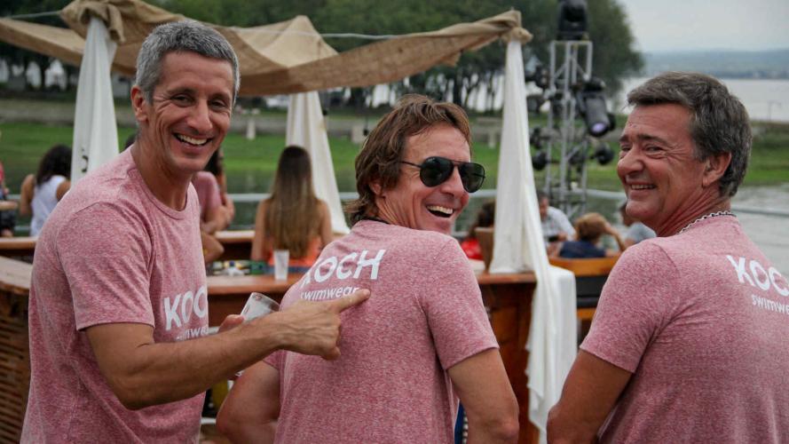 Trajes de baño y deportes de agua: la dupla exitosa del finde XL en Córdoba
