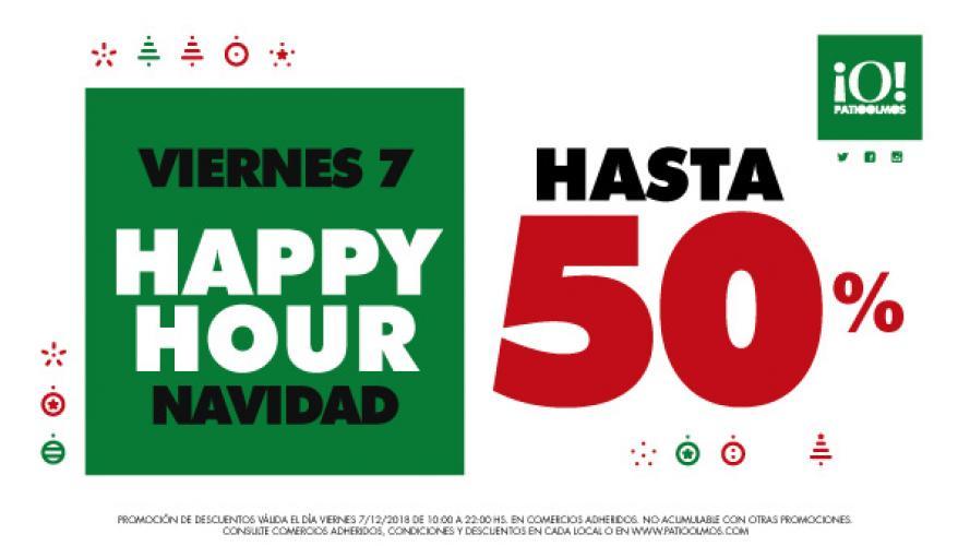 Descuentos de hasta el 50% en el Happy Hour de Patio Olmos