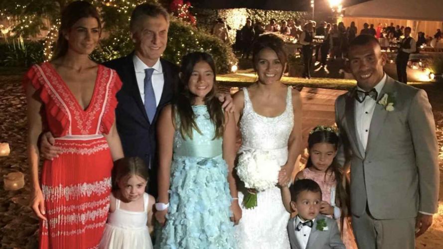 Así fue el casamiento de Carlos Tévez y Vanesa Mansilla en Uruguay