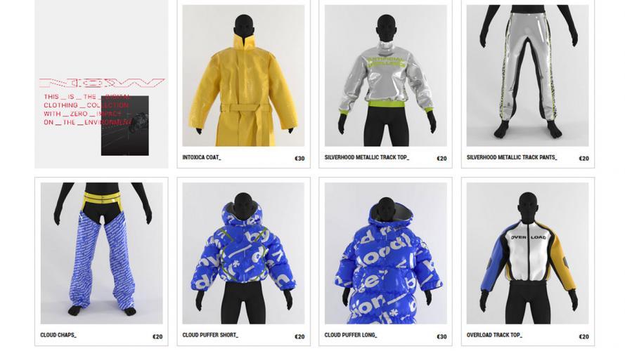 ¿Qué es la ropa digital? Prendas que visten fotos, no personas